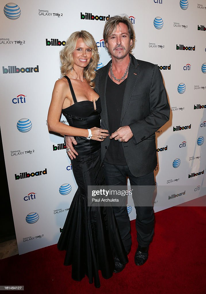 Recording Artist <a gi-track='captionPersonalityLinkClicked' href=/galleries/search?phrase=Charlie+Colin&family=editorial&specificpeople=2997546 ng-click='$event.stopPropagation()'>Charlie Colin</a> (R) attends The Billboard GRAMMY after party at The London Hotel on February 10, 2013 in West Hollywood, California.