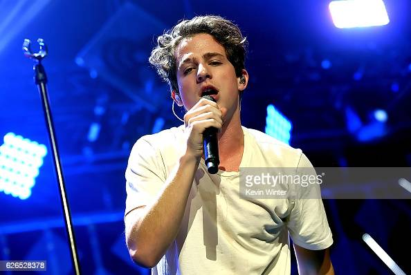 Recording artist Charlie Puth performs onstage at 1061 KISS FM's Jingle Ball 2016 presented by Capital One at American Airlines Center on November 29...