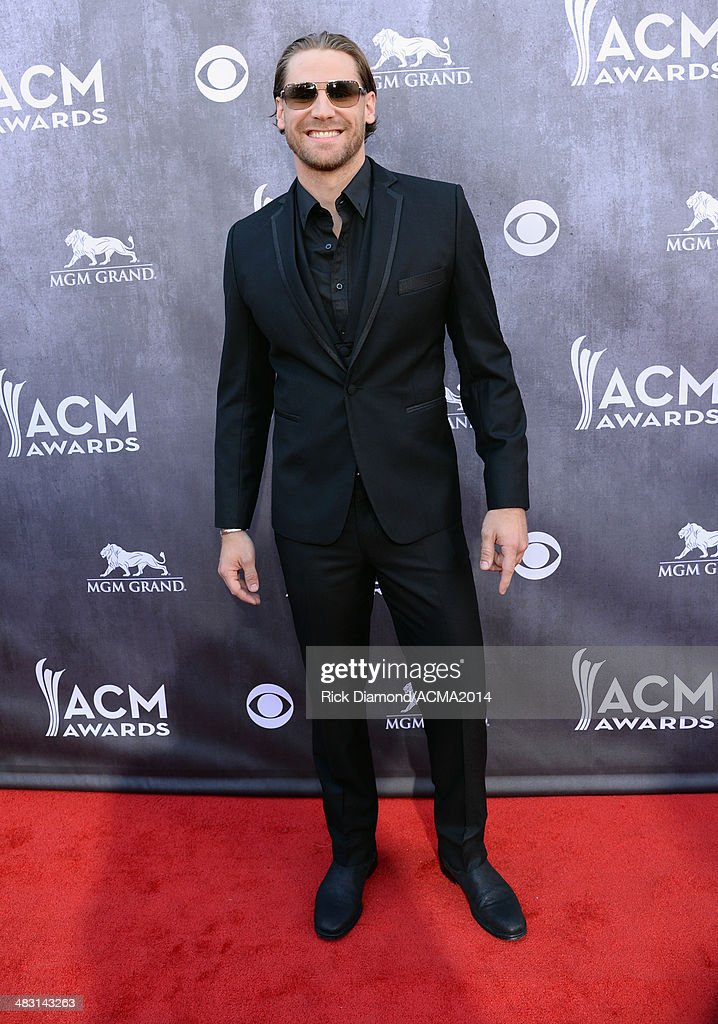Recording artist <a gi-track='captionPersonalityLinkClicked' href=/galleries/search?phrase=Chase+Rice&family=editorial&specificpeople=5616111 ng-click='$event.stopPropagation()'>Chase Rice</a> attends the 49th Annual Academy of Country Music Awards at the MGM Grand Garden Arena on April 6, 2014 in Las Vegas, Nevada.