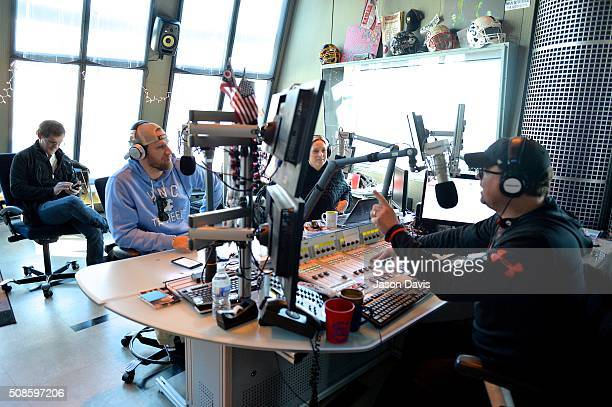 Recording Artist Chase Rice speaks to Host Storme Warren during a visit to SiriusXM to debut his new single 'WHISPER' at SiriusXM Studios on February...