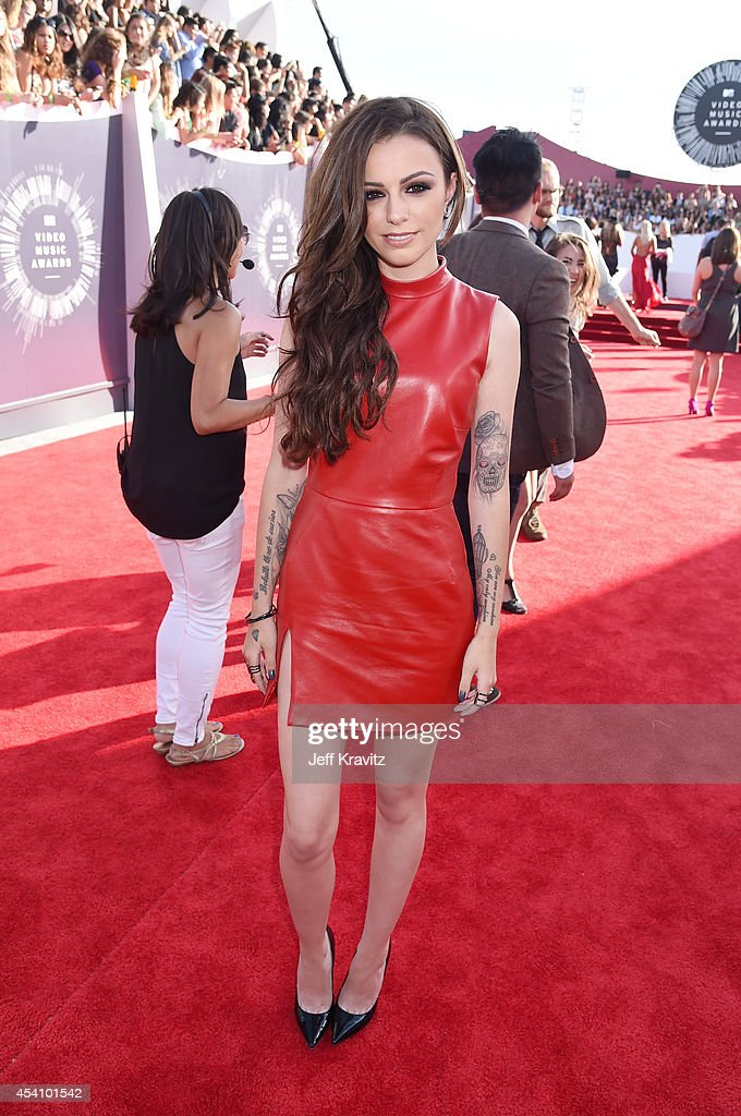 Recording artist Cher Lloyd attends the 2014 MTV Video Music Awards at The Forum on August 24, 2014 in Inglewood, California.