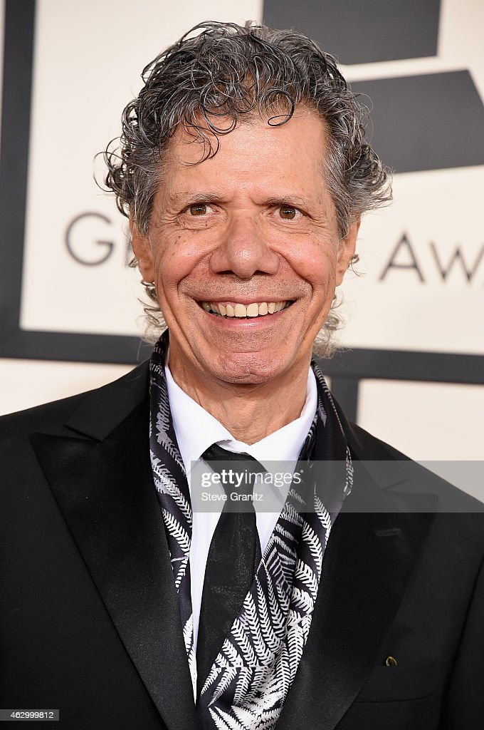 Recording artist <a gi-track='captionPersonalityLinkClicked' href=/galleries/search?phrase=Chick+Corea&family=editorial&specificpeople=1657212 ng-click='$event.stopPropagation()'>Chick Corea</a> attends The 57th Annual GRAMMY Awards at the STAPLES Center on February 8, 2015 in Los Angeles, California.