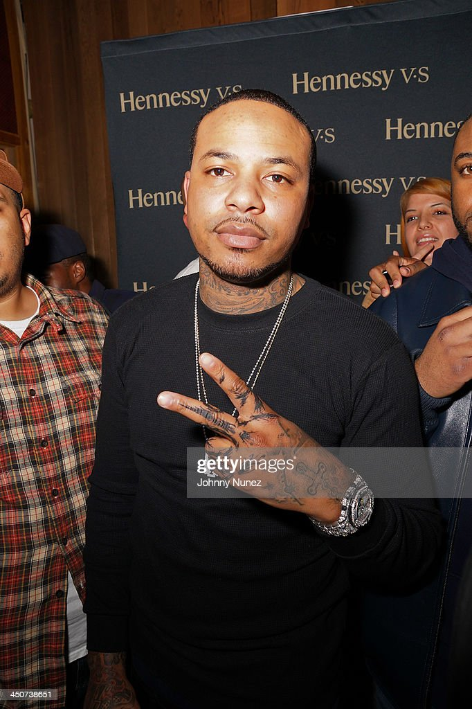 Recording artist Chinx Drugz attends his EP Listening Session at Chung King Studios on November 19, 2013 in New York City.