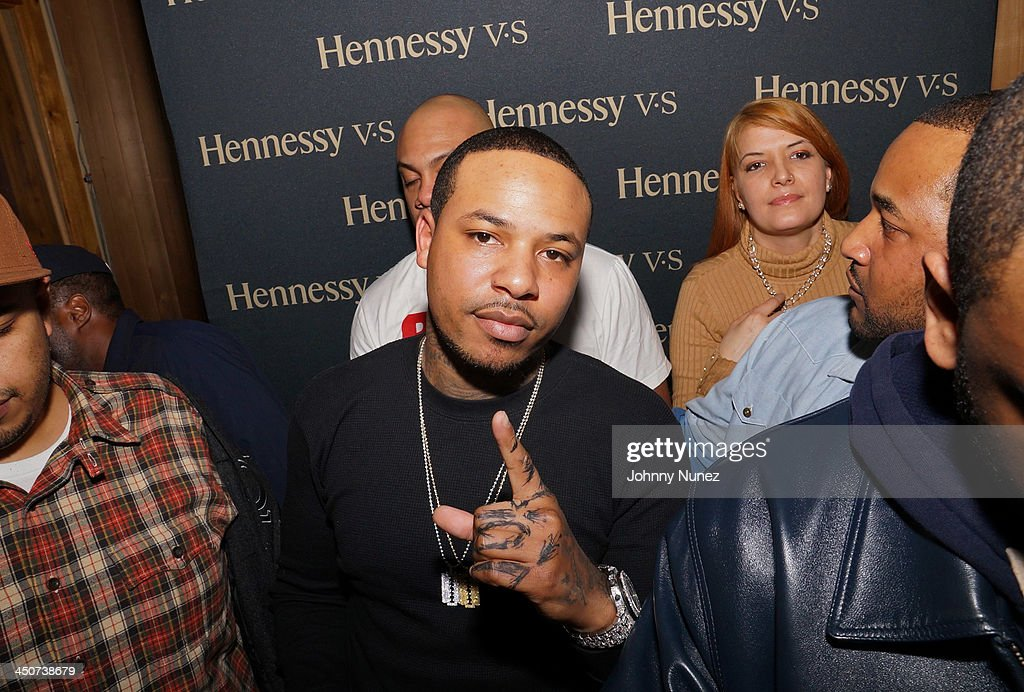Recording artist <a gi-track='captionPersonalityLinkClicked' href=/galleries/search?phrase=Chinx&family=editorial&specificpeople=8752901 ng-click='$event.stopPropagation()'>Chinx</a> Drugz attends his EP Listening Session at Chung King Studios on November 19, 2013 in New York City.