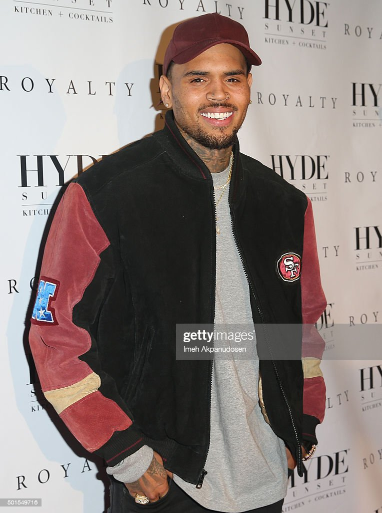 "Chris Brown Listening Party For ""Royalty"""