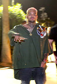 Recording artist Chris Brown attends day 2 of the 2015 Coachella Valley Music Arts Festival at the Empire Polo Club on April 11 2015 in Indio...