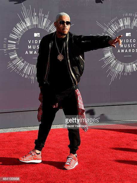 Recording artist Chris Brown attends the 2014 MTV Video Music Awards at The Forum on August 24 2014 in Inglewood California