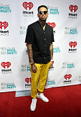 Recording artist Chris Brown attends The iHeartRadio Summer Pool Party at Caesars Palace on May 30 2015 in Las Vegas Nevada