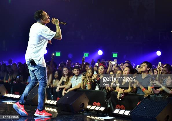 Chris Brown For iHeartRadio Live With Special Guest T.I ...