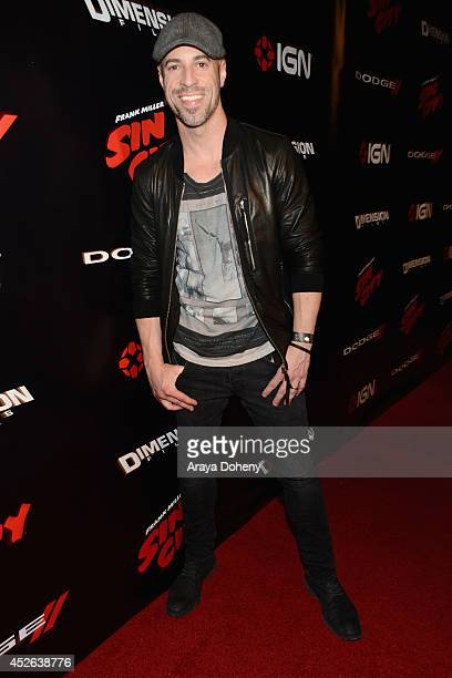Recording artist Chris Daughtry attends IGN 'Sin City A Dame to Kill For' ComicCon International Party during ComicCon International 2014 at Hard...