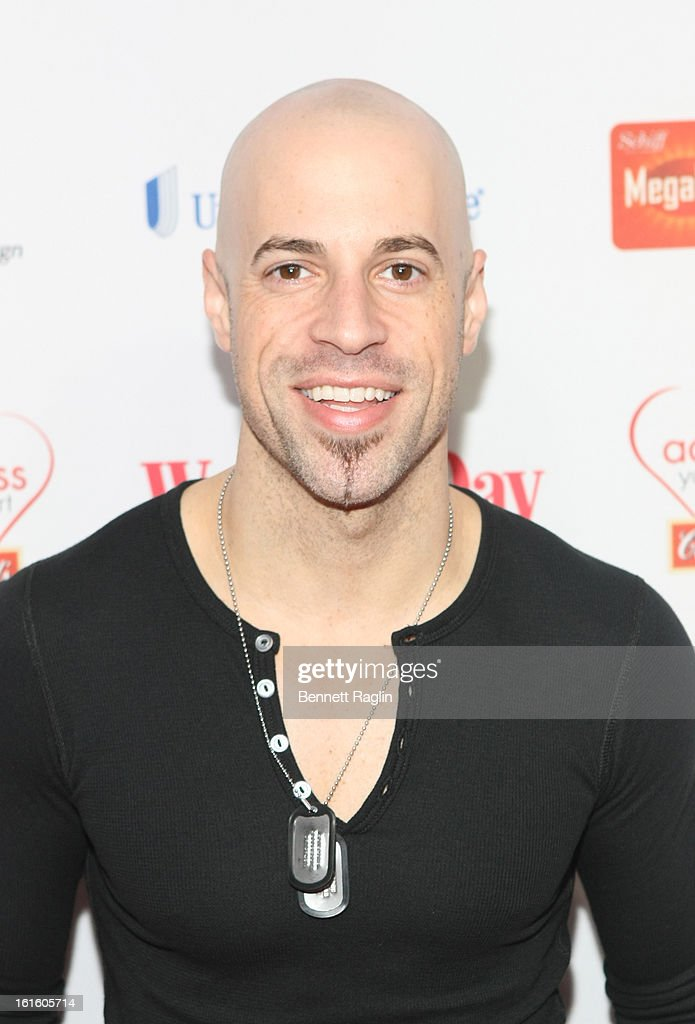 Recording artist <a gi-track='captionPersonalityLinkClicked' href=/galleries/search?phrase=Chris+Daughtry&family=editorial&specificpeople=614842 ng-click='$event.stopPropagation()'>Chris Daughtry</a> attends the 10th Annual Red Dress Awards at Jazz at Lincoln Center on February 12, 2013 in New York City.