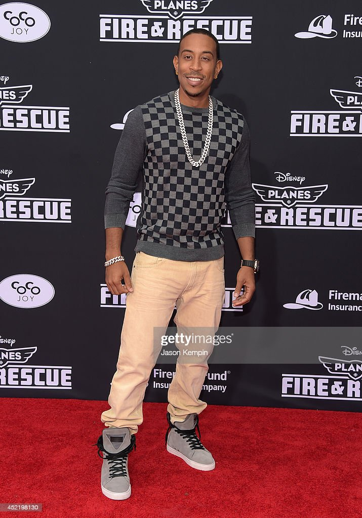 Recording artist Chris 'Ludacris' Bridges attends the premiere of Disney's 'Planes: Fire & Rescue' at the El Capitan Theatre on July 15, 2014 in Hollywood, California.