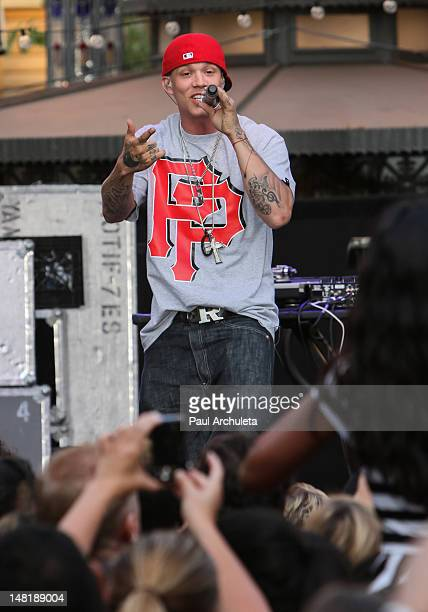 Recording Artist Chris Rene performs live at the 2nd Annual Summer Concert Series at The Grove on July 11 2012 in Los Angeles California