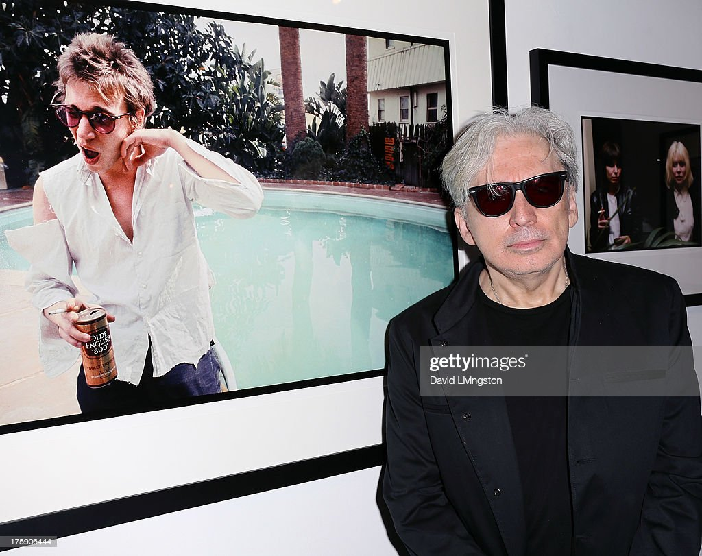 Recording artist <a gi-track='captionPersonalityLinkClicked' href=/galleries/search?phrase=Chris+Stein&family=editorial&specificpeople=239488 ng-click='$event.stopPropagation()'>Chris Stein</a> attends the 'Hell in The City of Angels: <a gi-track='captionPersonalityLinkClicked' href=/galleries/search?phrase=Chris+Stein&family=editorial&specificpeople=239488 ng-click='$event.stopPropagation()'>Chris Stein</a>' photo exhibition opening at the Morrison Hotel Gallery on August 9, 2013 in West Hollywood, California.