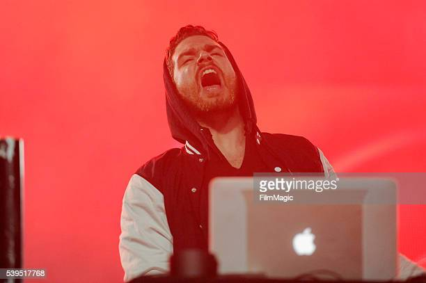 Recording artist Christian Srigley of Adventure Club performs onstage at The Other Tent during Day 3 of the 2016 Bonnaroo Arts And Music Festival on...