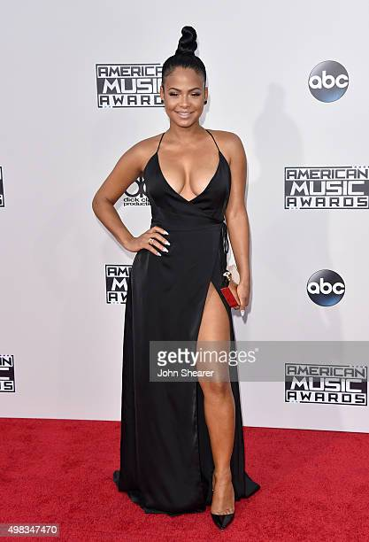 Recording artist Christina Milian attends the 2015 American Music Awards at Microsoft Theater on November 22 2015 in Los Angeles California
