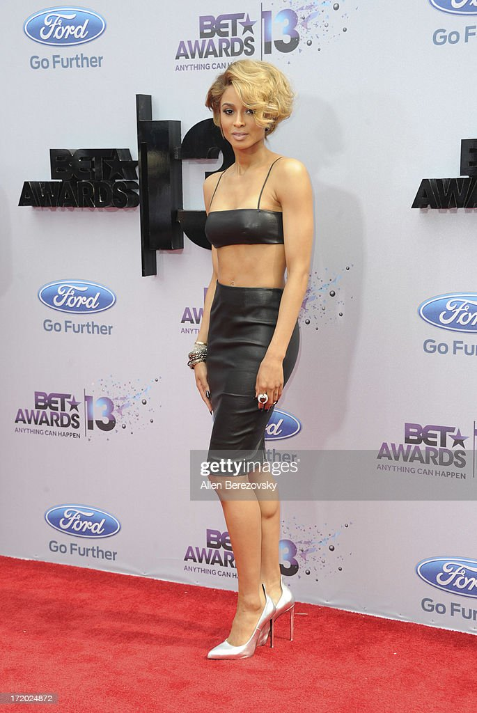 Recording artist Ciara attends 2013 BET Awards - Arrivals at Nokia Plaza L.A. LIVE on June 30, 2013 in Los Angeles, California.