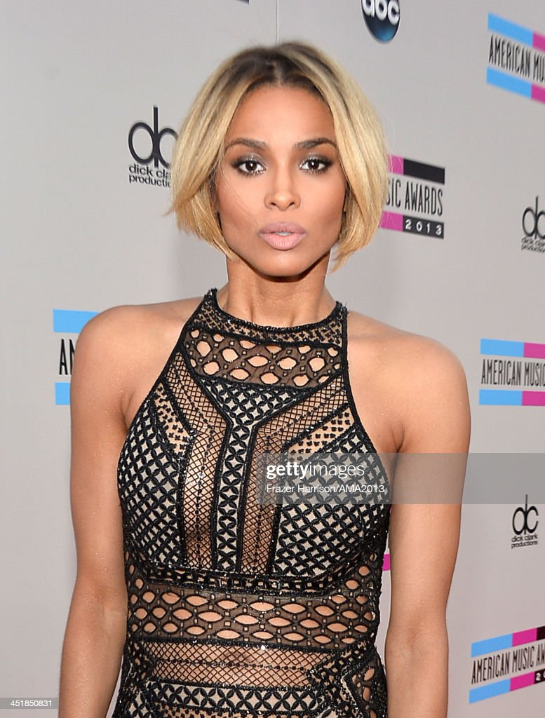 Recording artist Ciara attends the 2013 American Music Awards at Nokia Theatre L.A. Live on November 24, 2013 in Los Angeles, California.