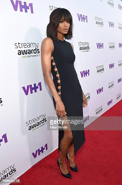 Recording artist Ciara attends VH1's 5th Annual Streamy Awards at the Hollywood Palladium on Thursday September 17 2015 in Los Angeles California