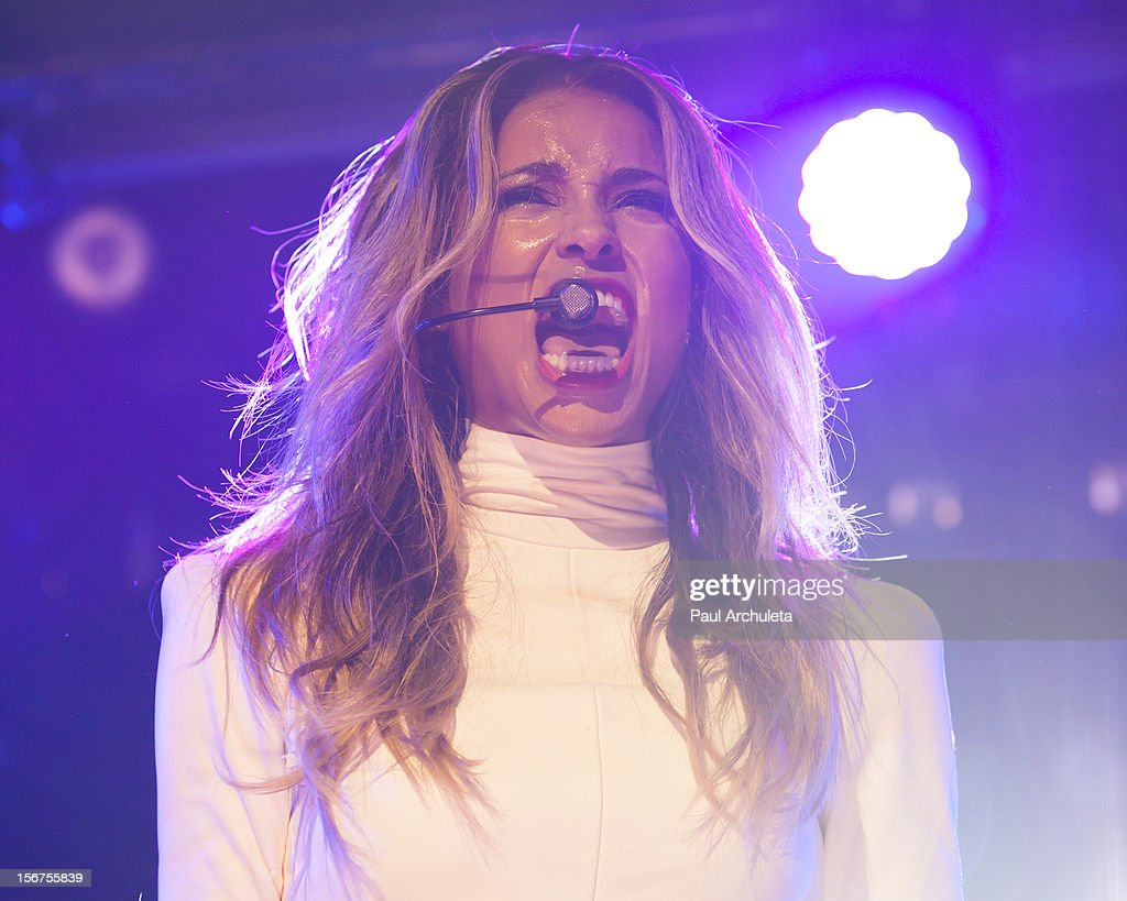 Recording Artist Ciara performs for the Myspace LIVE Series at Key Club on November 19, 2012 in West Hollywood, California.