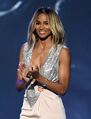 Recording artist Ciara speaks onstage during the 2016 ESPYS at Microsoft Theater on July 13 2016 in Los Angeles California
