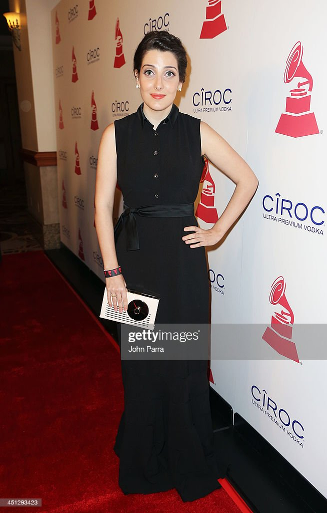 Recording artist Clarice Falcao attends The 14th Annual Latin GRAMMY Awards after party at the Mandalay Bay Events Center on November 21, 2013 in Las Vegas, Nevada.