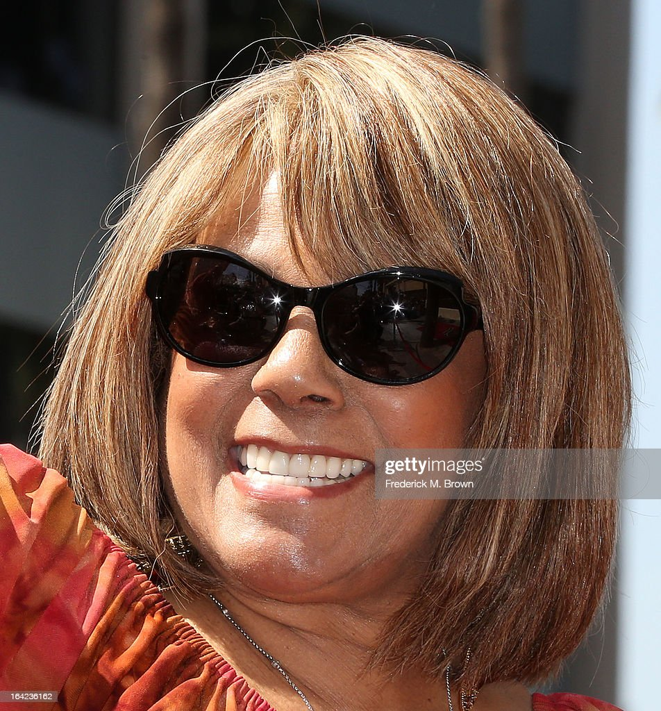 Recording artist Claudette Robinson speaks during the ceremony honoring The Funk Brothers on The Hollywood Walk Of Fame on March 21, 2013 in Hollywood, California.