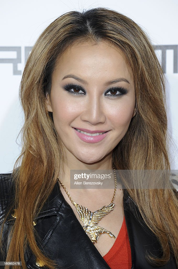 Recording artist Coco Lee attends Will.I.Am's Annual TRANS4M Concert Benefitting I.Am.Angel Foundation - Red Carpet on February 7, 2013 in Hollywood, California.