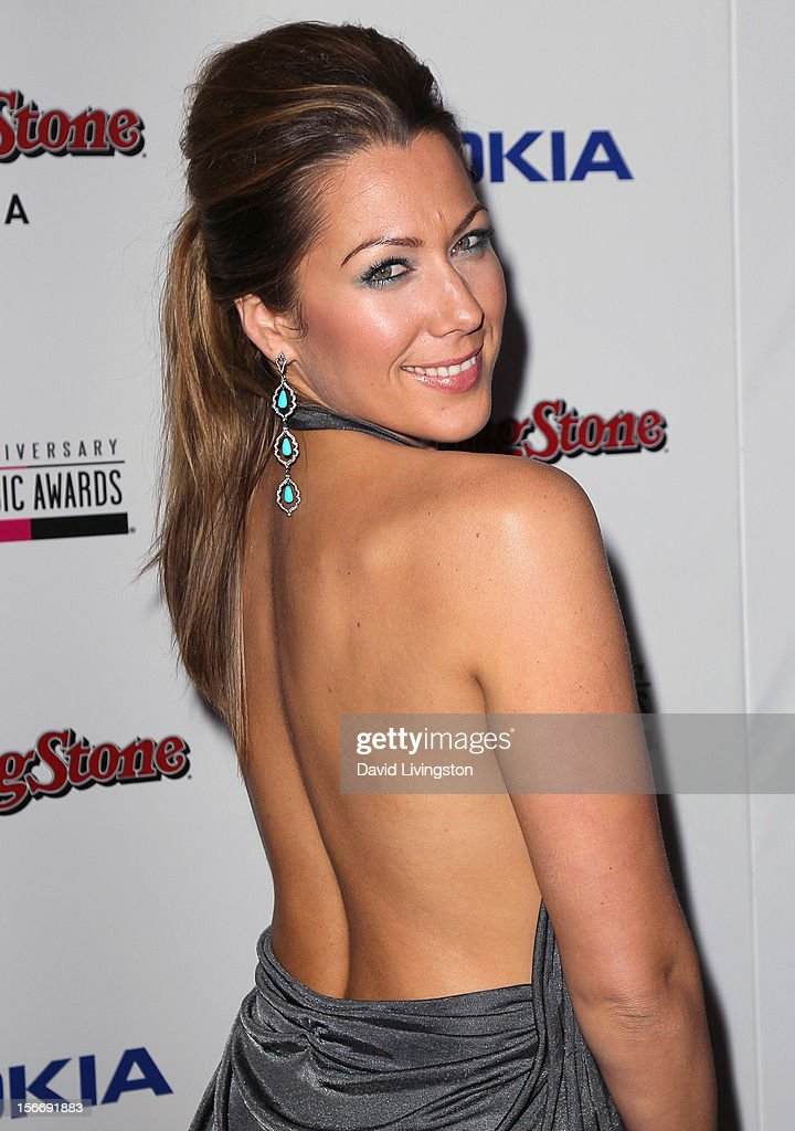 Recording artist Colbie Caillat attends Rolling Stone Magazine's 2012 American Music Awards (AMAs) VIP After Party presented by Nokia and Rdio at the Rolling Stone Restaurant and Lounge on November 18, 2012 in Los Angeles, California.