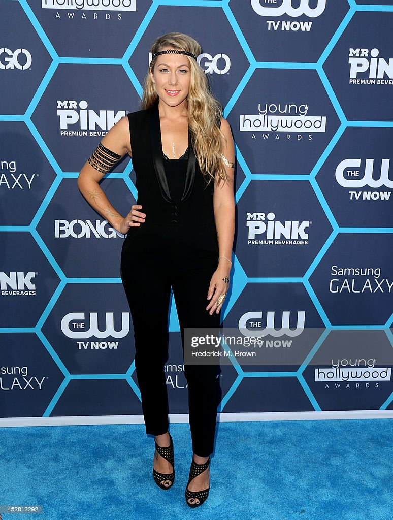 Recording artist Colbie Caillat attends the 2014 Young Hollywood Awards brought to you by Samsung Galaxy at The Wiltern on July 27 2014 in Los...