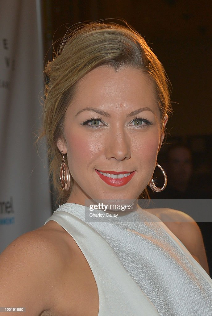 Recording artist Colbie Caillat attends The Grove's 10th Annual Star Studded Holiday Tree Lighting Spectacular Presented By Citi at The Grove on November 11, 2012 in Los Angeles, California.