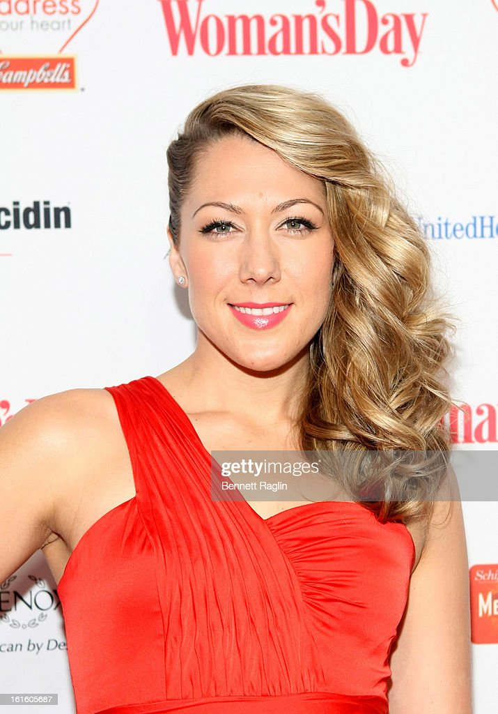 Recording artist Colbie Callait attends the 10th Annual Red Dress Awards at Jazz at Lincoln Center on February 12, 2013 in New York City.