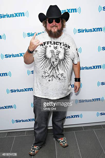Recording artist Colt Ford visits the SiriusXM Studios on July 8 2014 in New York City