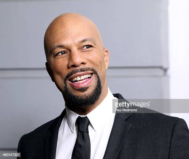 Recording artist Common arrives at An Evening With Norman Lear presented by The Television Academy at The Montalban on January 28 2015 in Hollywood...