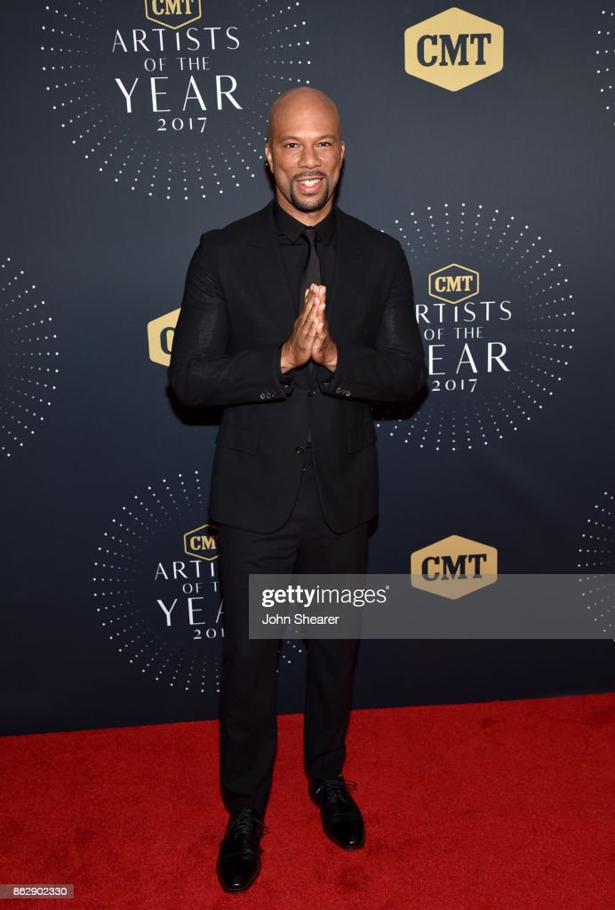 Recording artist Common arrives at the 2017 CMT Artists Of The Year on October 18, 2017 in Nashville, Tennessee.