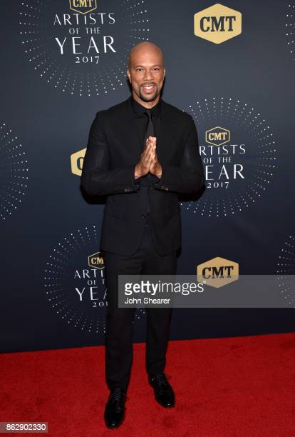 Recording artist Common arrives at the 2017 CMT Artists Of The Year on October 18 2017 in Nashville Tennessee