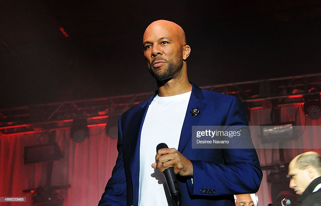 Recording artist Common performs at the 23rd Annual Super Bowl Party With A Purpose at Brooklyn Cruise Terminal on February 1, 2014 in New York City.