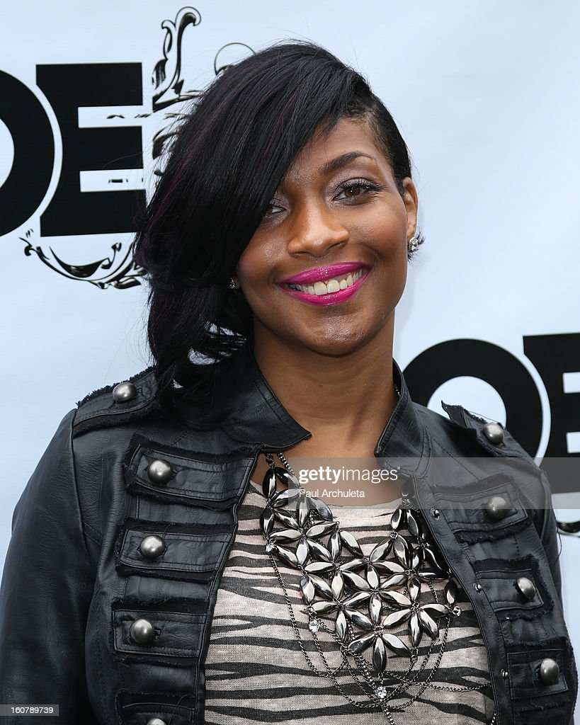 Recording Artist Courtney Harrell attends the 1st Annual Grammy Producers Brunch at Xen Lounge on February 5, 2013 in Los Angeles, California.