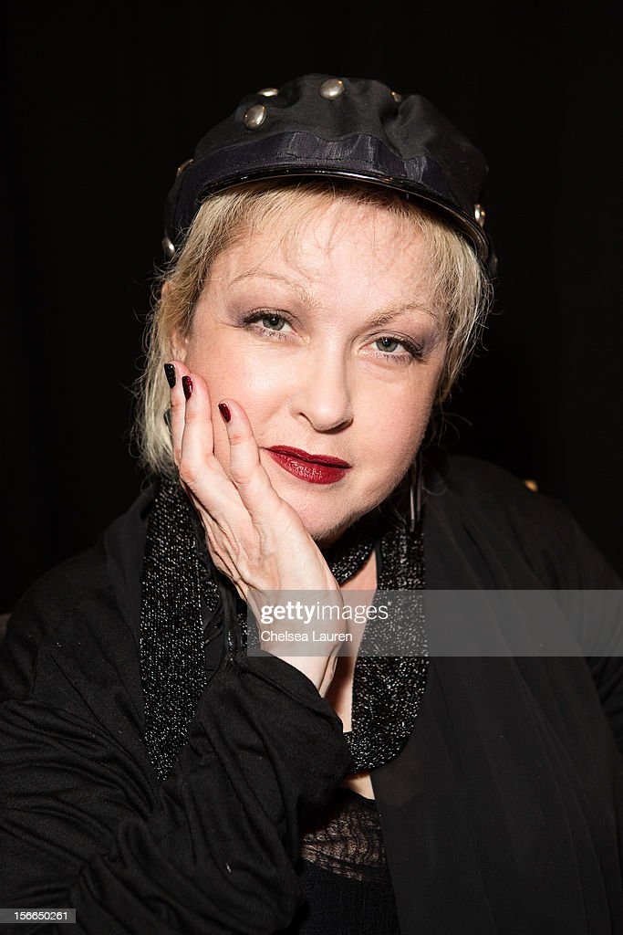 Recording artist <a gi-track='captionPersonalityLinkClicked' href=/galleries/search?phrase=Cyndi+Lauper&family=editorial&specificpeople=171290 ng-click='$event.stopPropagation()'>Cyndi Lauper</a> attends LPB Group presents day 2 of the official AMA gift lounge at Nokia Theatre L.A. Live on November 17, 2012 in Los Angeles, California.