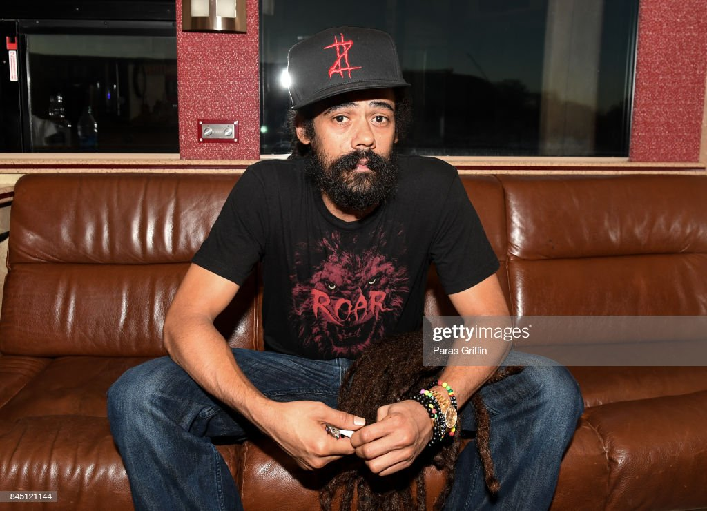 Recording artist Damian Marley at 2017 ONE Music Fest at Lakewood Amphitheatre on September 9, 2017 in Atlanta, Georgia.