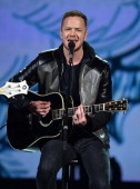 Recording artist Dan Reynolds of Imagine Dragons performs onstage during 'The Night That Changed America A GRAMMY Salute To The Beatles' at the Los...