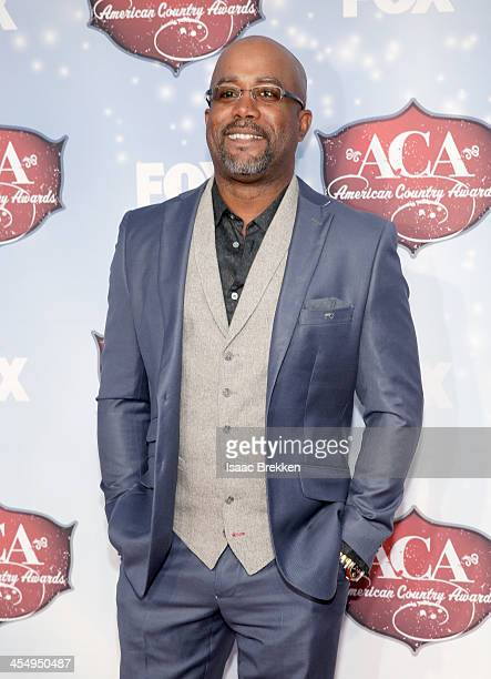 Recording artist Darius Rucker arrives at the American Country Awards 2013 at the Mandalay Bay Events Center on December 10 2013 in Las Vegas Nevada