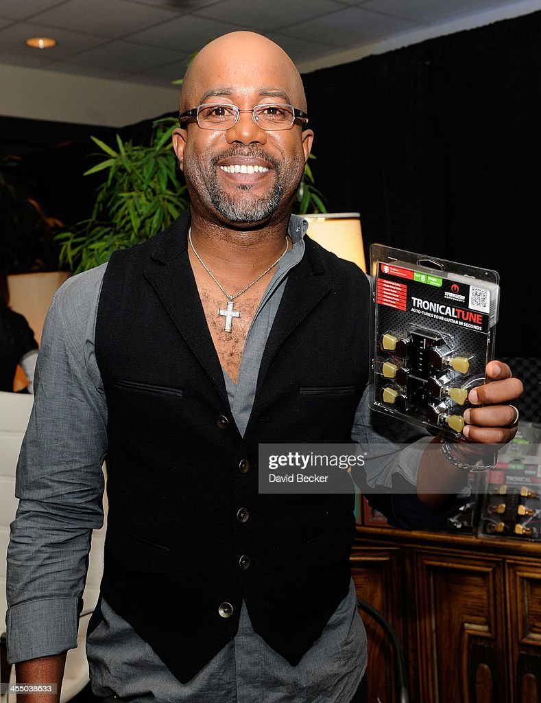 Recording artist <a gi-track='captionPersonalityLinkClicked' href=/galleries/search?phrase=Darius+Rucker&family=editorial&specificpeople=215161 ng-click='$event.stopPropagation()'>Darius Rucker</a> attends the Backstage Creations Celebrity Retreat at the American Country Awards 2013 at the Mandalay Bay Events Center on December 10, 2013 in Las Vegas, Nevada.