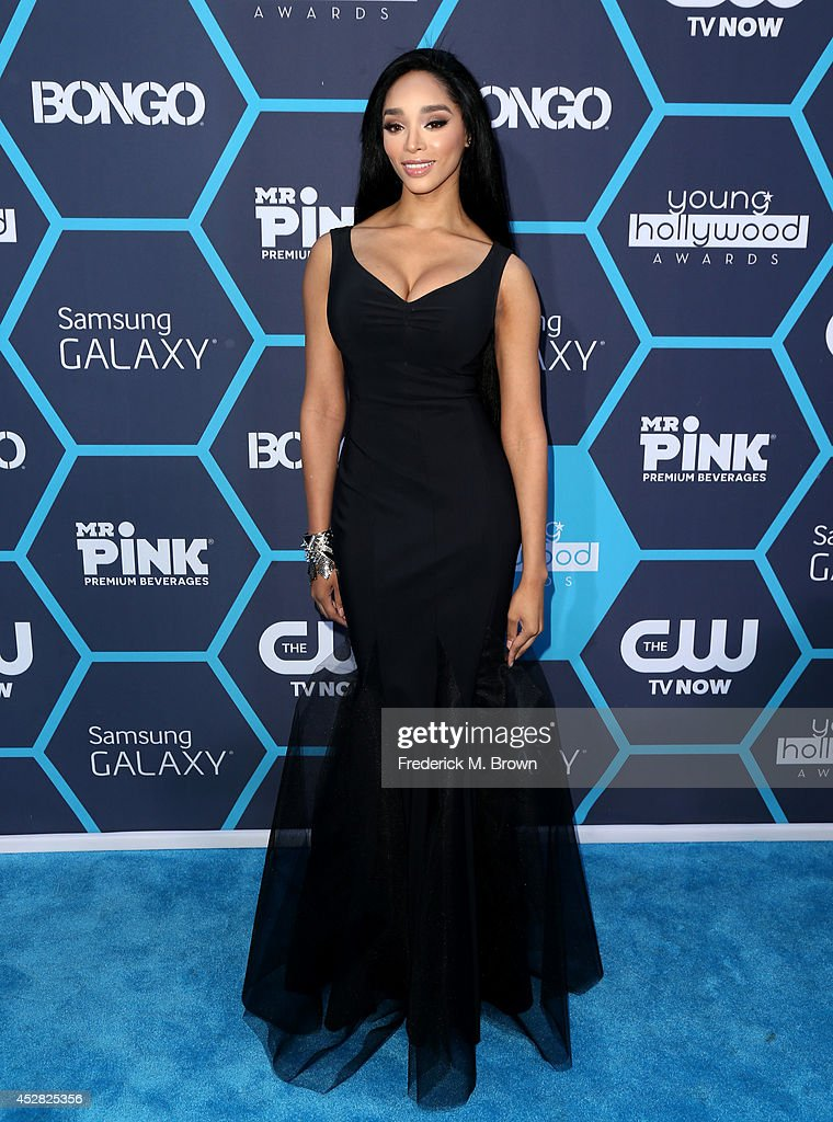 Recording artist Darnaa attends the 2014 Young Hollywood Awards brought to you by Samsung Galaxy at The Wiltern on July 27, 2014 in Los Angeles, California.