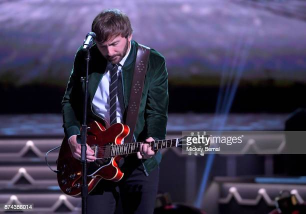 Recording artist Dave Haywood of Lady Antebellum performs during CMA 2017 Country Christmas at The Grand Ole Opry on November 14 2017 in Nashville...