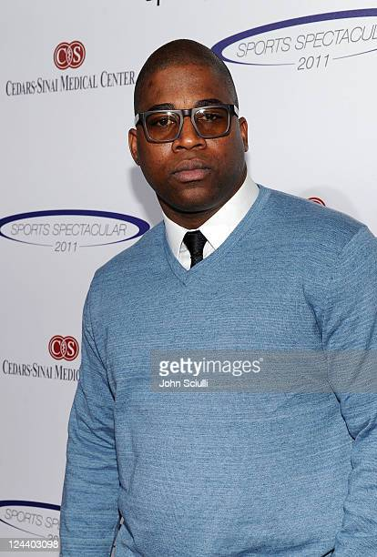 Recording artist David Banner arrives at the 2011 Cedars Sinai Sports Spectacular at Hyatt Regency Century Plaza on May 22 2011 in Beverly Hills...
