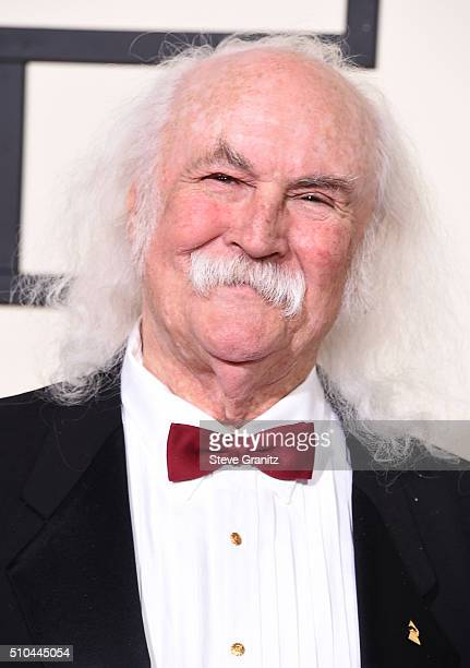 Recording artist David Crosby attends The 58th GRAMMY Awards at Staples Center on February 15 2016 in Los Angeles California