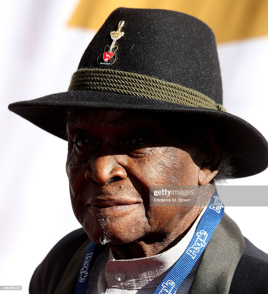 Recording artist David 'Honeyboy' Edwards attends the 52nd annual GRAMMY Awards-Special Merit Awards at the Wilshire Ebell Theater on January 30, 2010 in Los Angeles, California.