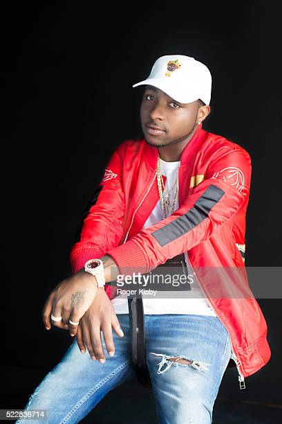 Recording artist Davido poses for a portrait backstage at FADER FORT presented by Converse during SXSW on March 18 2016 in Austin Texas