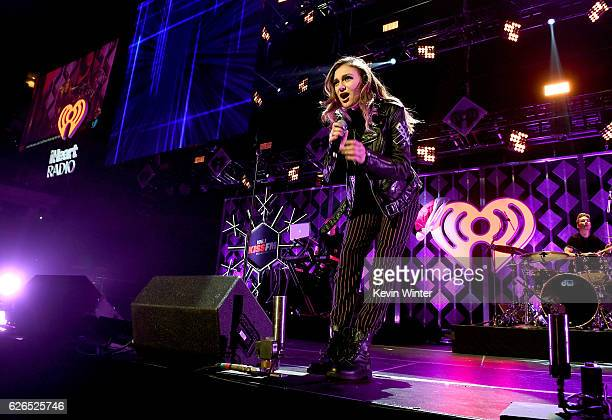 Recording artist Daya performs onstage at 1061 KISS FM's Jingle Ball 2016 presented by Capital One at American Airlines Center on November 29 2016 in...